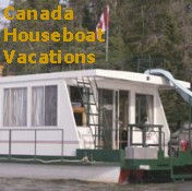Canada Houseboat Vacations